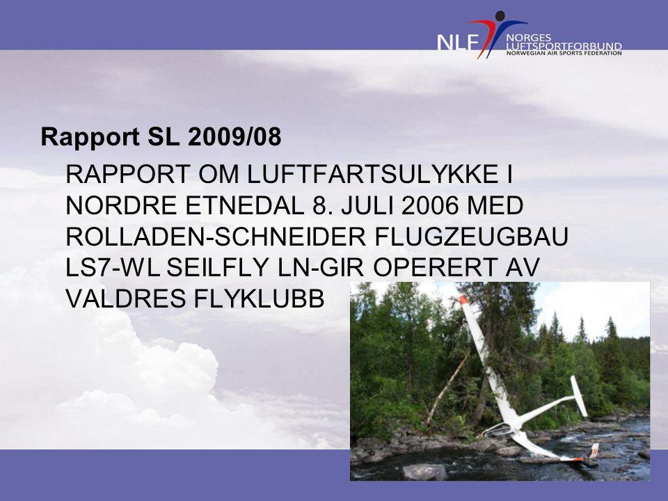 Rapport SL 2009/08