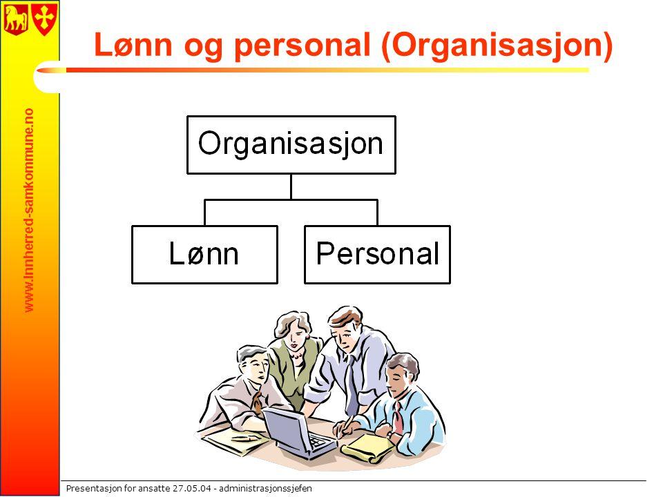 Lønn og personal (Organisasjon)