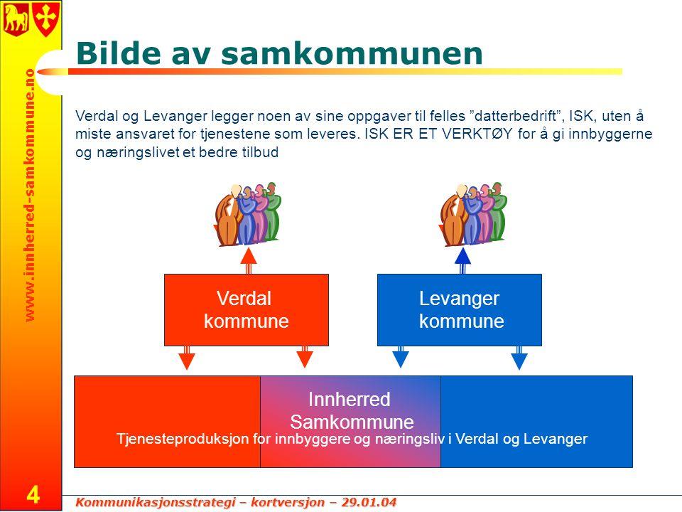 Tjenesteproduksjon for innbyggere og næringsliv i Verdal og Levanger