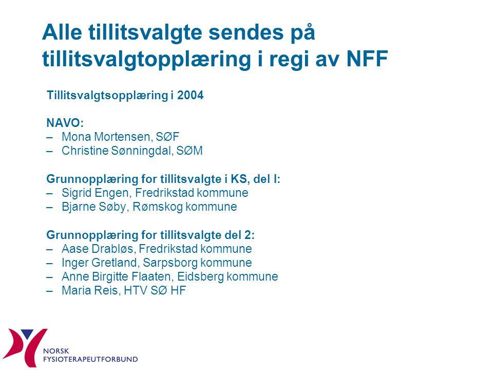 Alle tillitsvalgte sendes på tillitsvalgtopplæring i regi av NFF