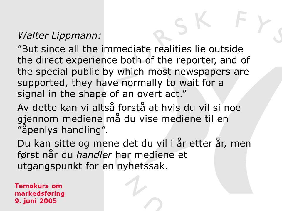 Walter Lippmann: