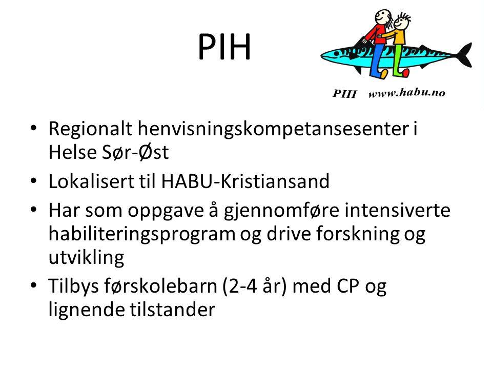 PIH Regionalt henvisningskompetansesenter i Helse Sør-Øst