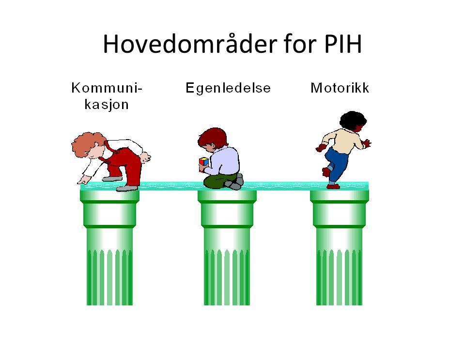 Hovedområder for PIH