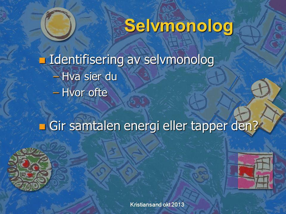 Selvmonolog Identifisering av selvmonolog