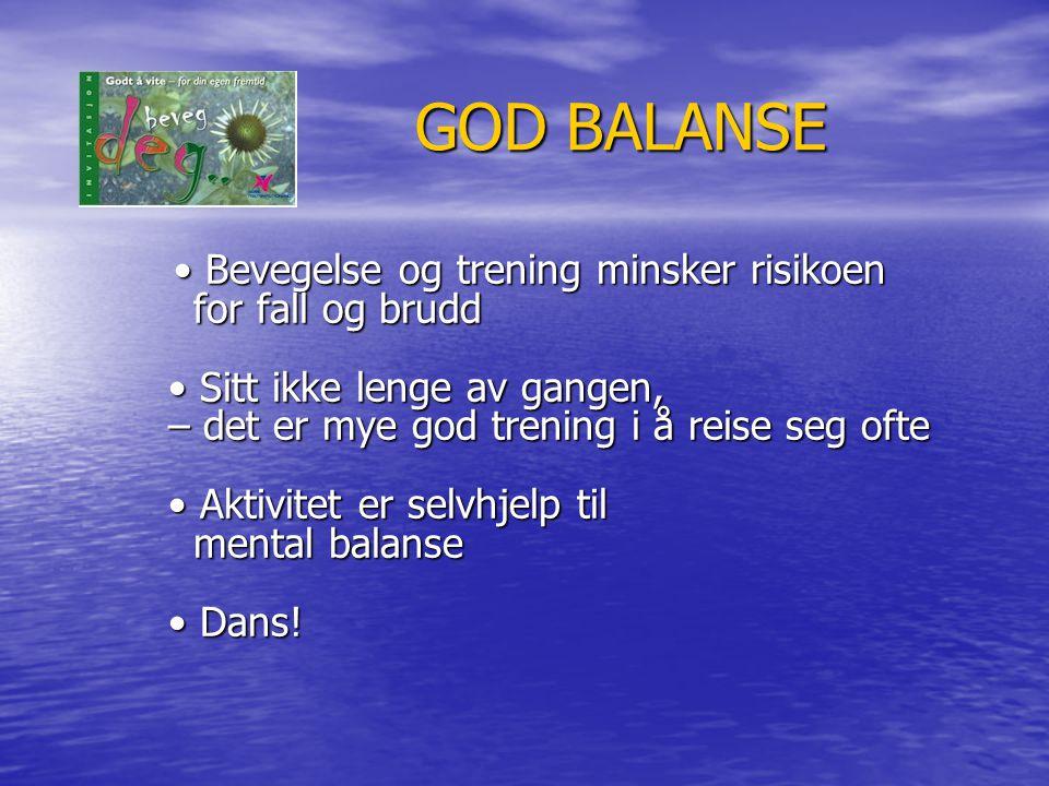 GOD BALANSE