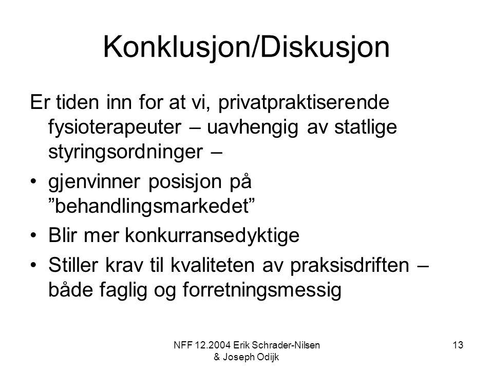 Konklusjon/Diskusjon