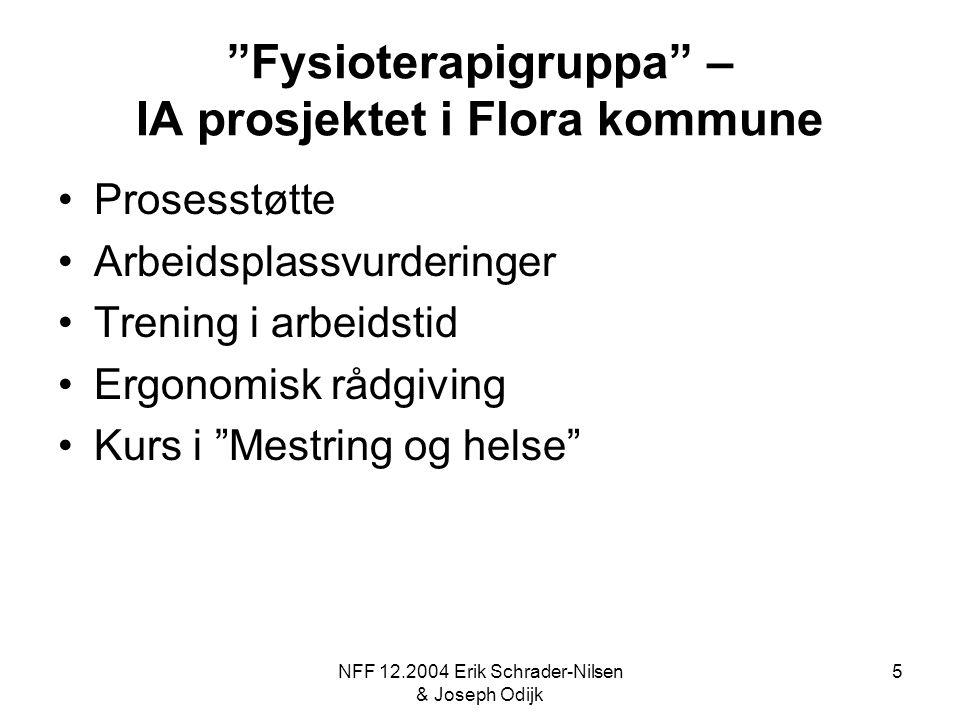 Fysioterapigruppa – IA prosjektet i Flora kommune