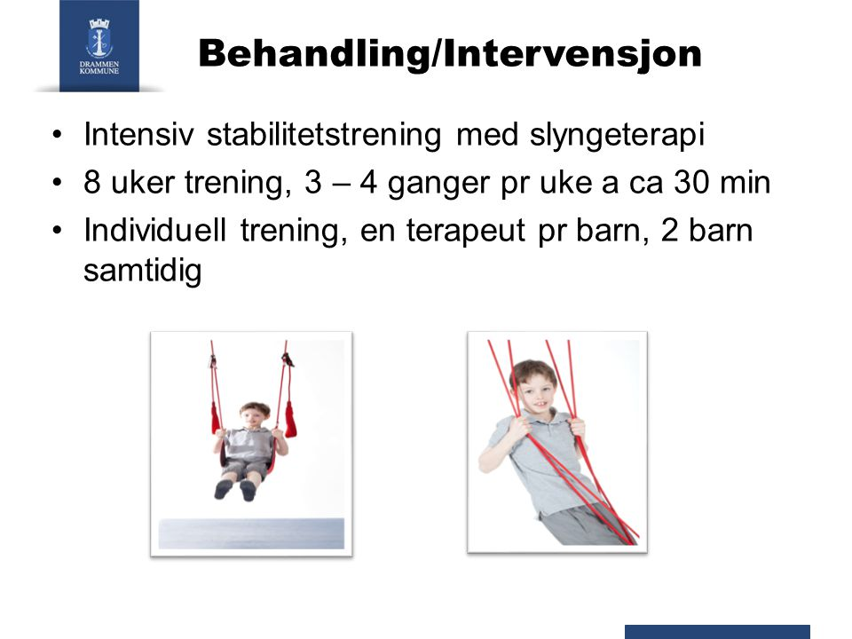 Behandling/Intervensjon