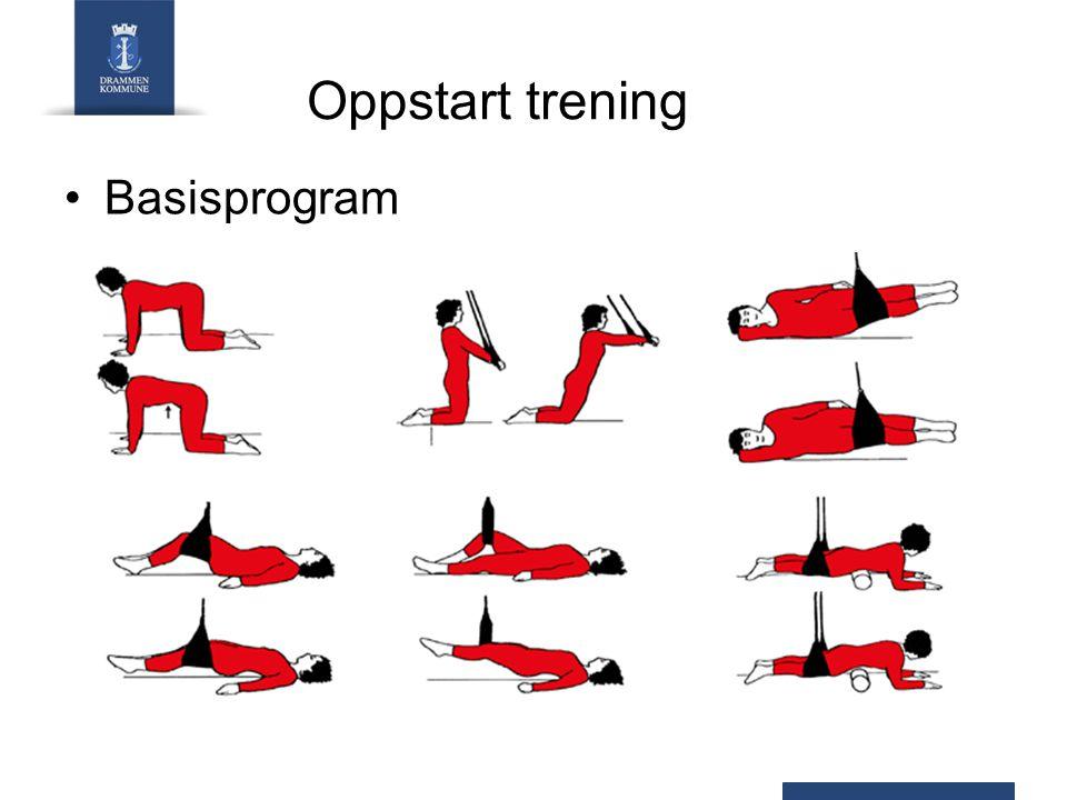 Oppstart trening Basisprogram