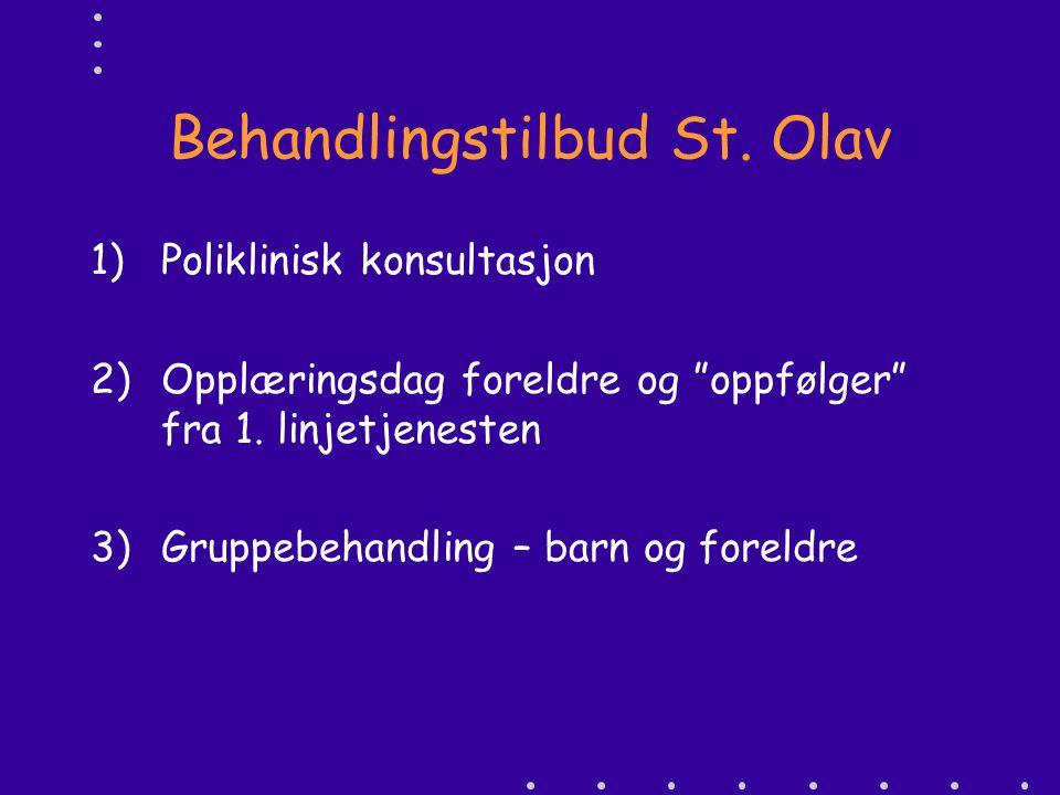 Behandlingstilbud St. Olav