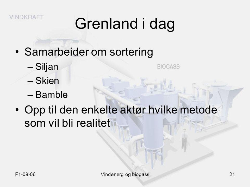Grenland i dag Samarbeider om sortering