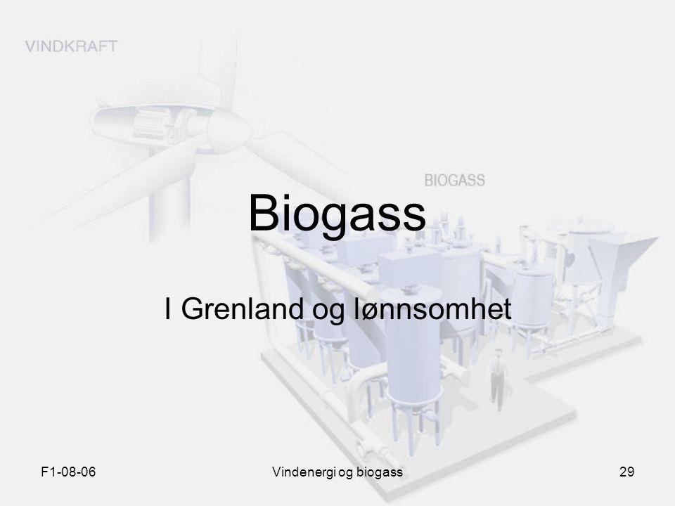 I Grenland og lønnsomhet
