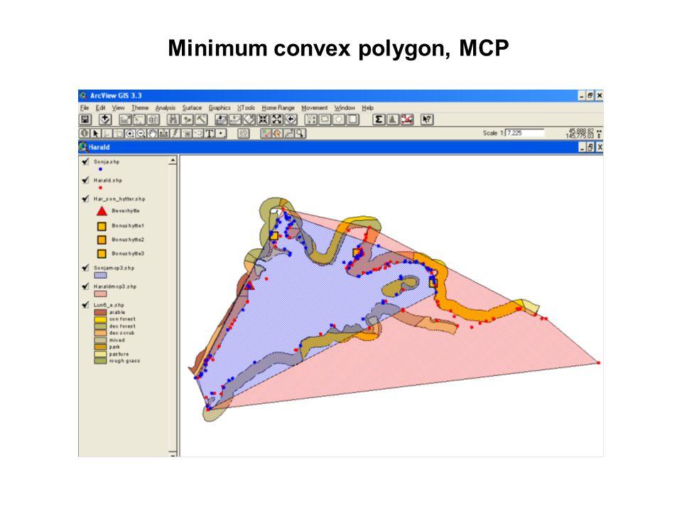 Minimum convex polygon, MCP
