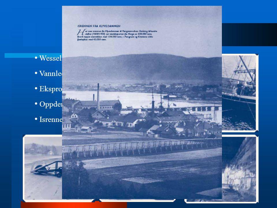 Historikk Wessel Vannledning Ekspropiering Oppdemming Isrennen