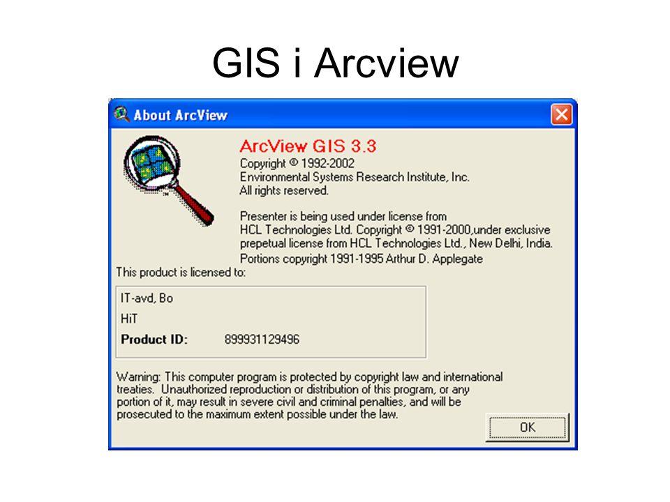GIS i Arcview