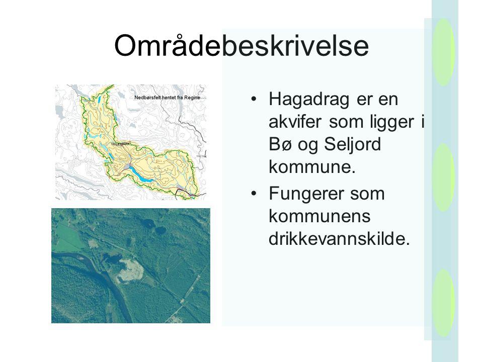 Områdebeskrivelse Hagadrag er en akvifer som ligger i Bø og Seljord kommune.