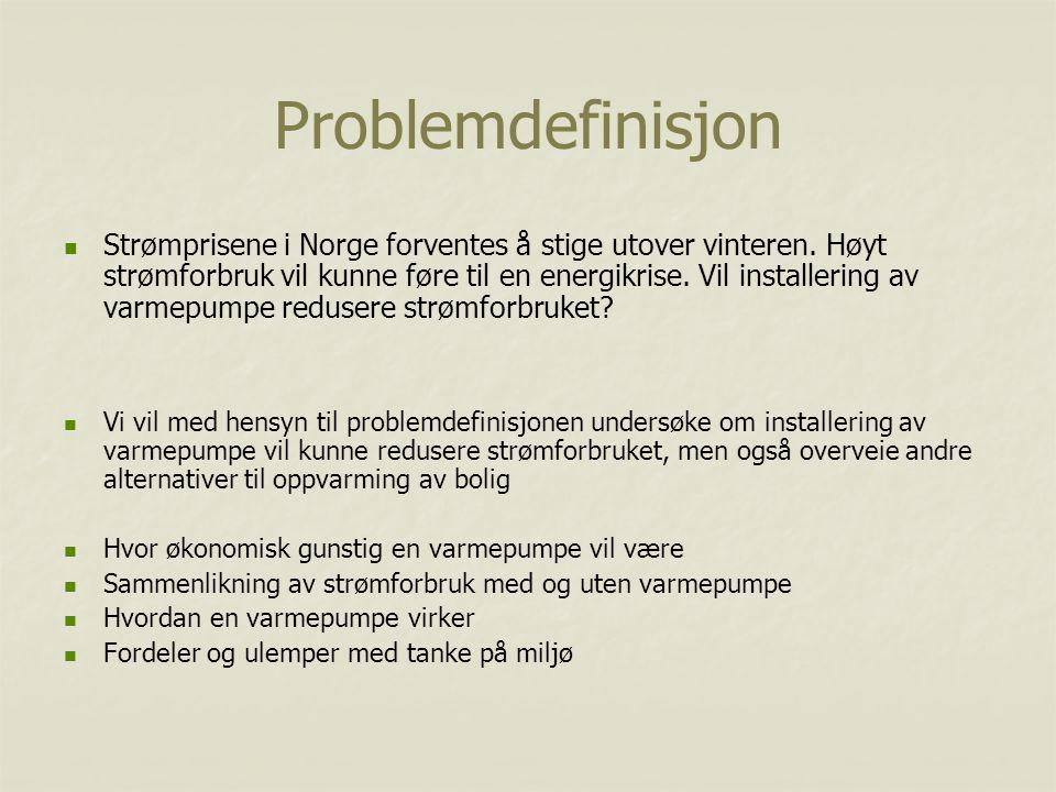 Problemdefinisjon