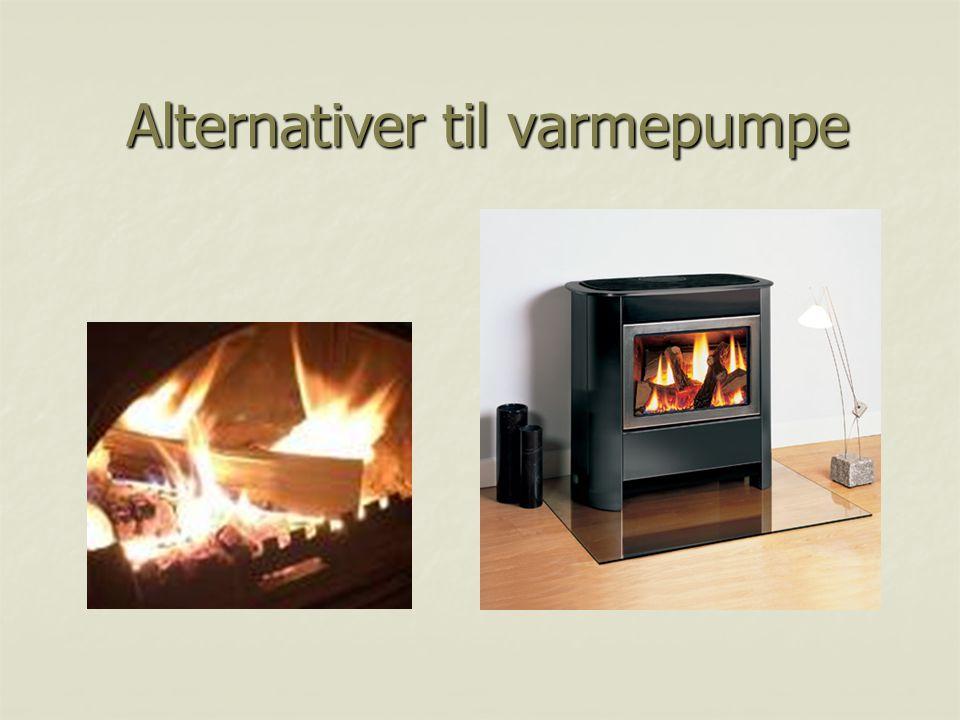 Alternativer til varmepumpe