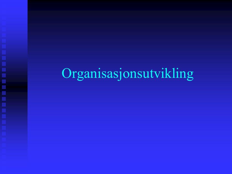 Organisasjonsutvikling