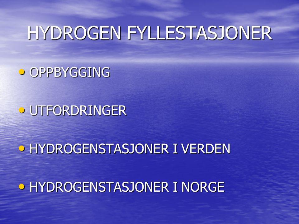 HYDROGEN FYLLESTASJONER