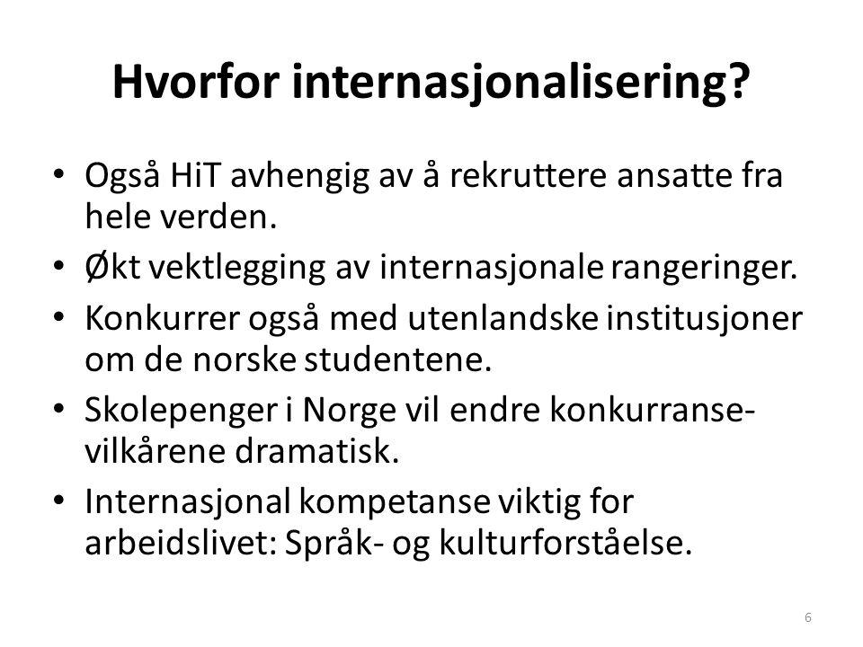 Hvorfor internasjonalisering