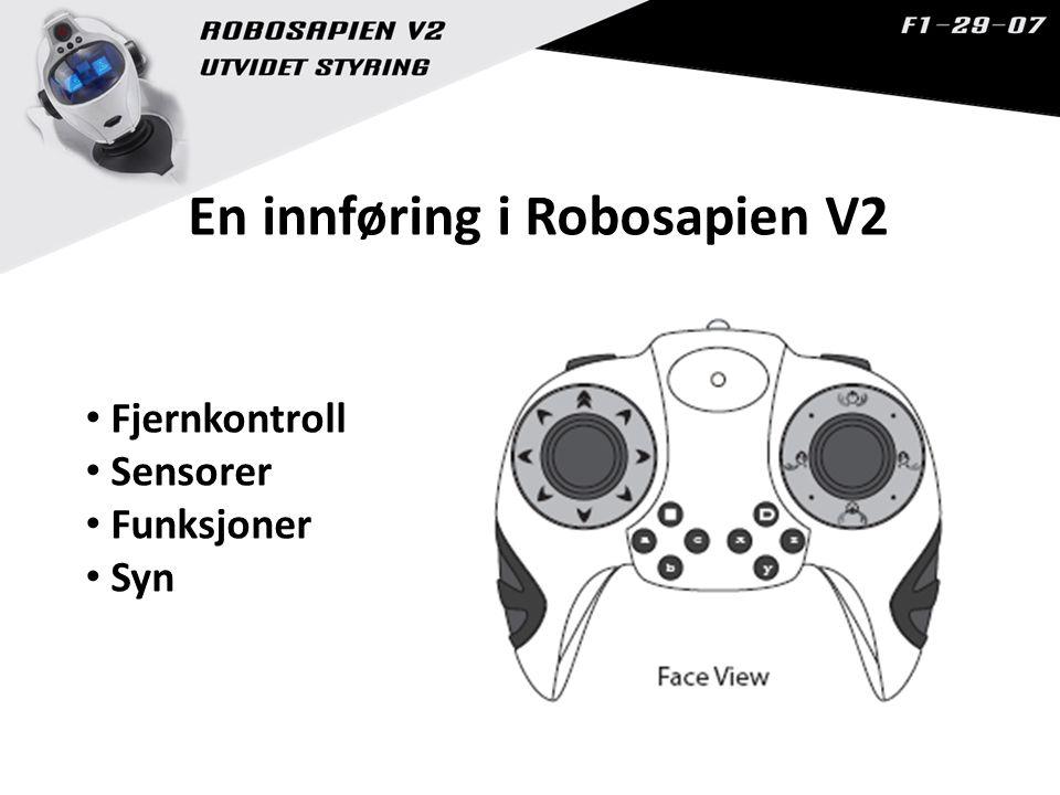 En innføring i Robosapien V2