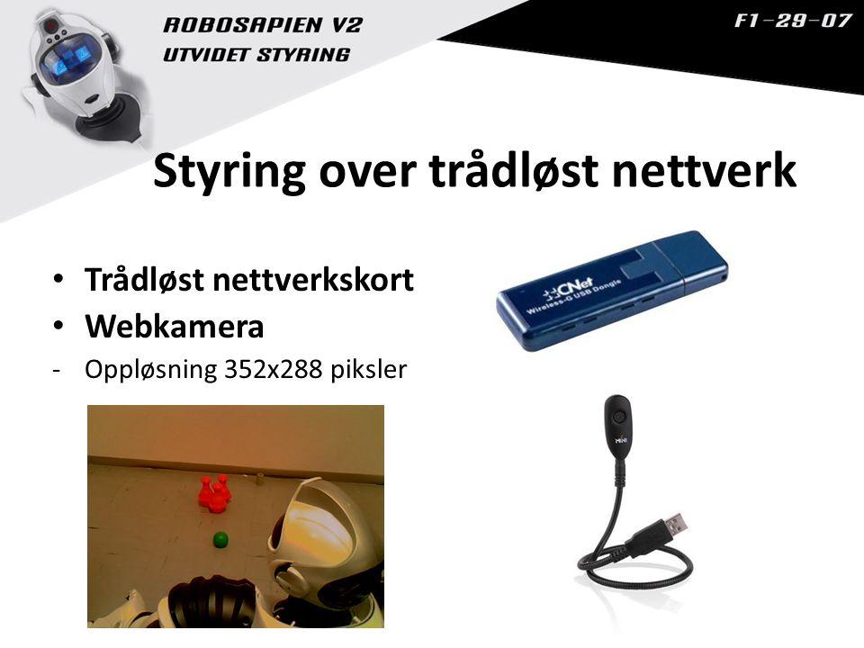 Styring over trådløst nettverk