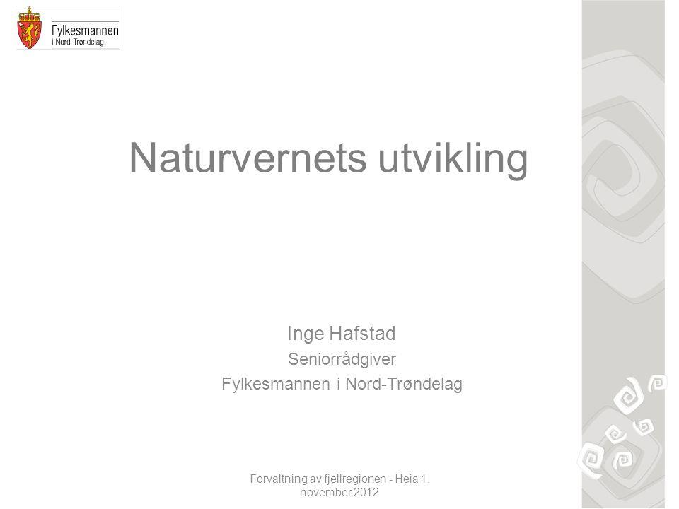 Naturvernets utvikling