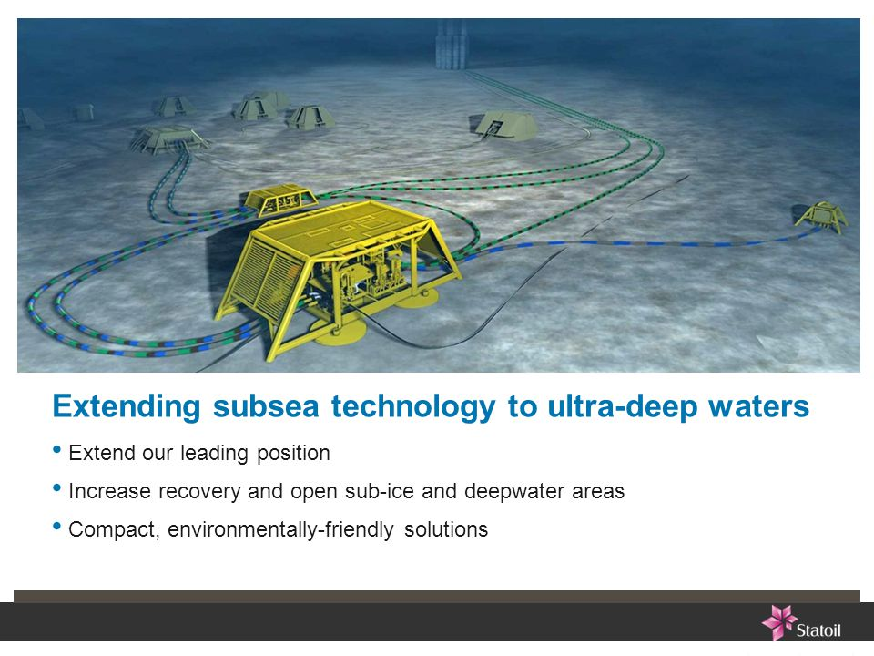 Extending subsea technology to ultra-deep waters