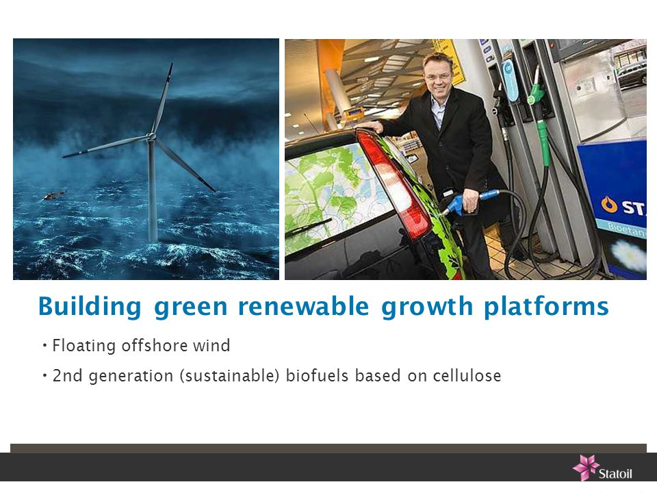 Building green renewable growth platforms