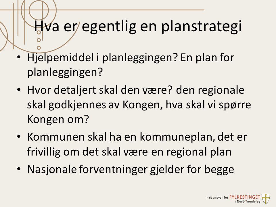 Hva er egentlig en planstrategi