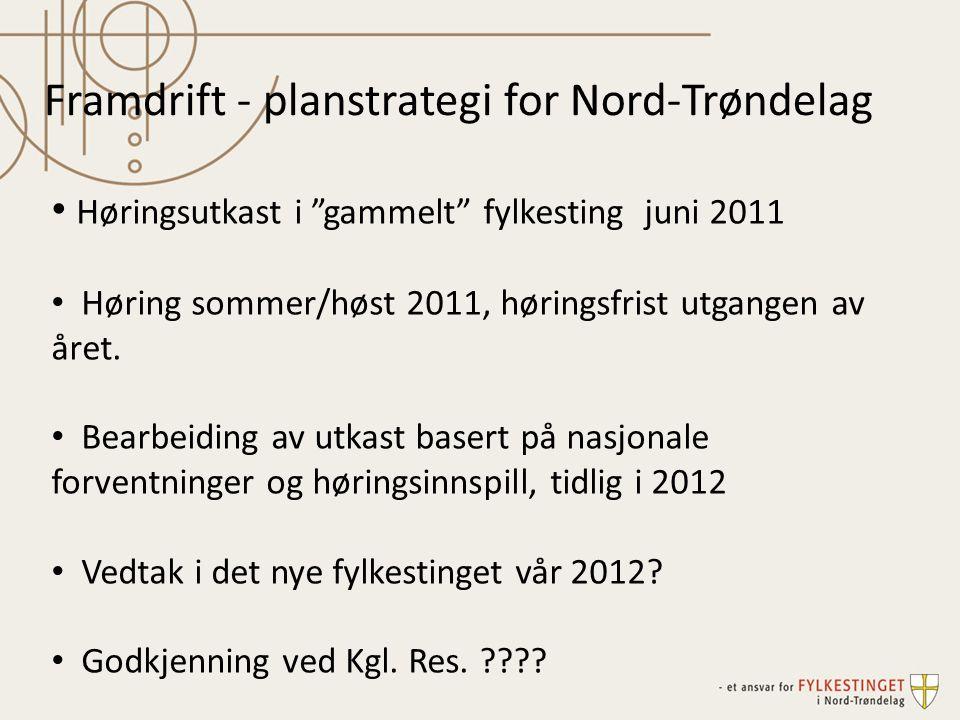 Framdrift - planstrategi for Nord-Trøndelag