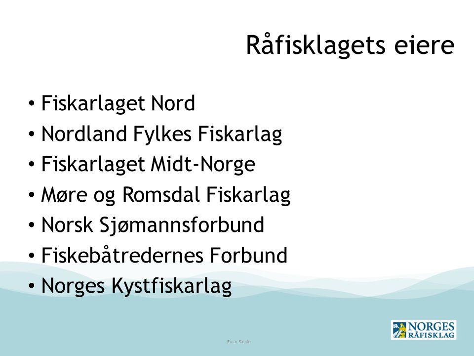 Råfisklagets eiere Fiskarlaget Nord Nordland Fylkes Fiskarlag