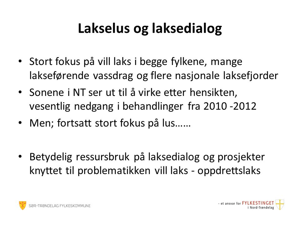 Lakselus og laksedialog