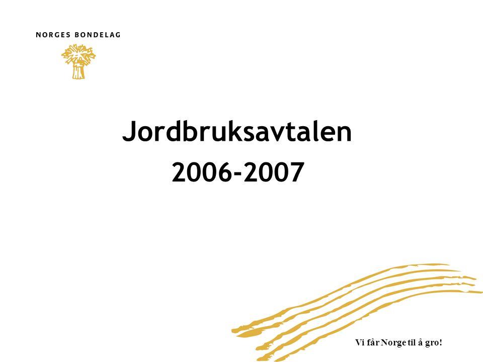 Jordbruksavtalen 2006-2007