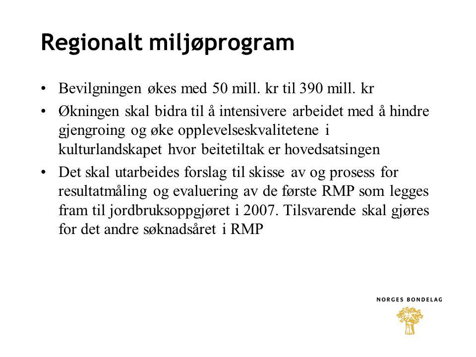 Regionalt miljøprogram