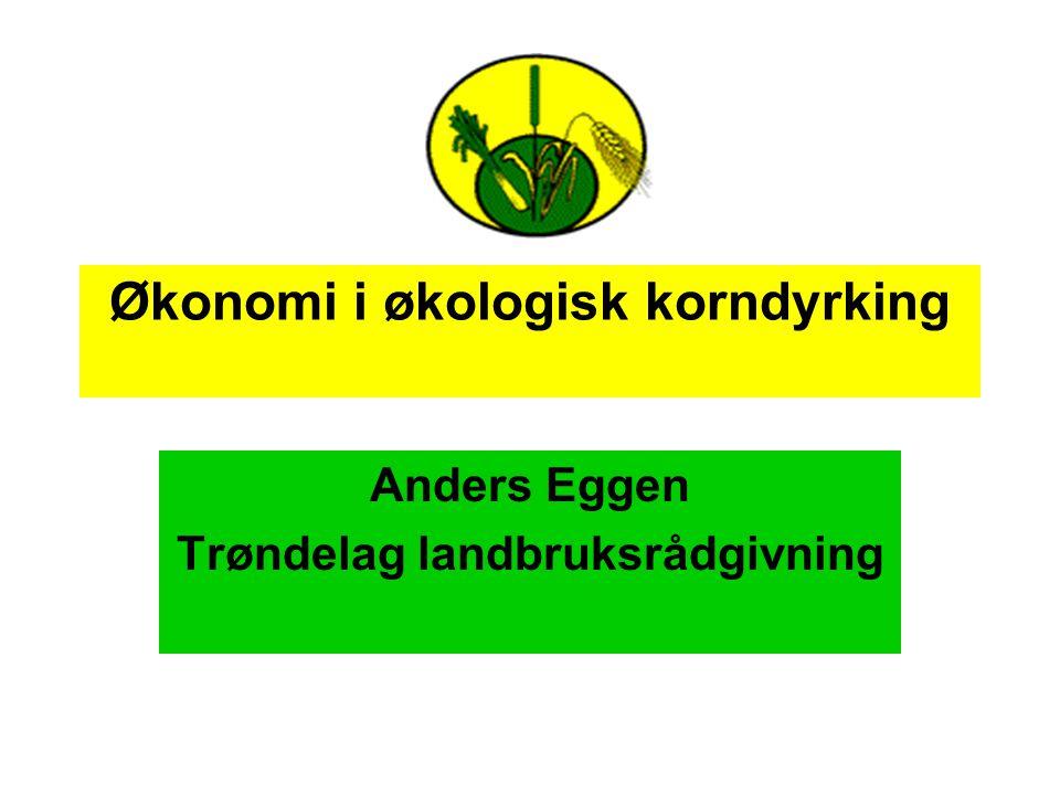 Økonomi i økologisk korndyrking