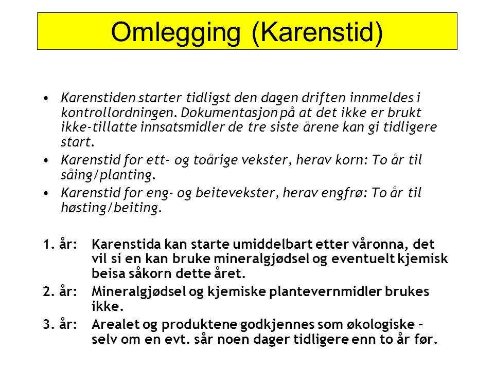 Omlegging (Karenstid)