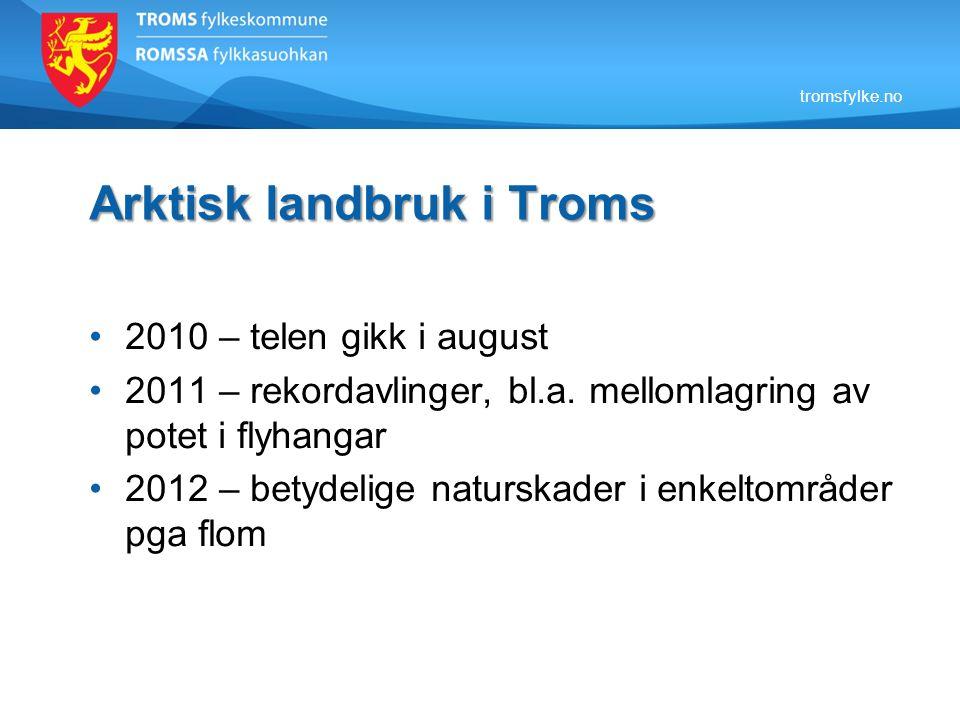 Arktisk landbruk i Troms