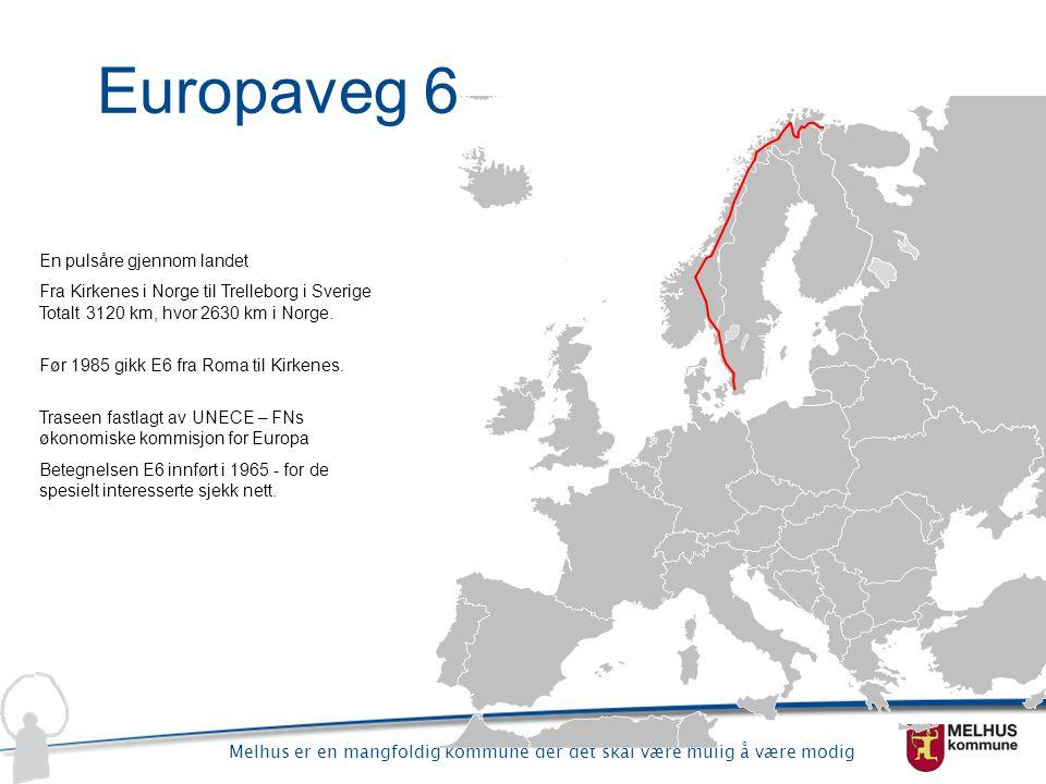 Europaveg 6 En pulsåre gjennom landet