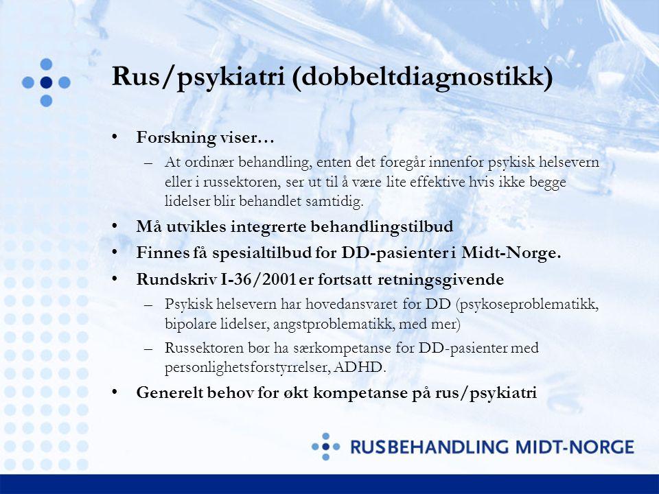 Rus/psykiatri (dobbeltdiagnostikk)