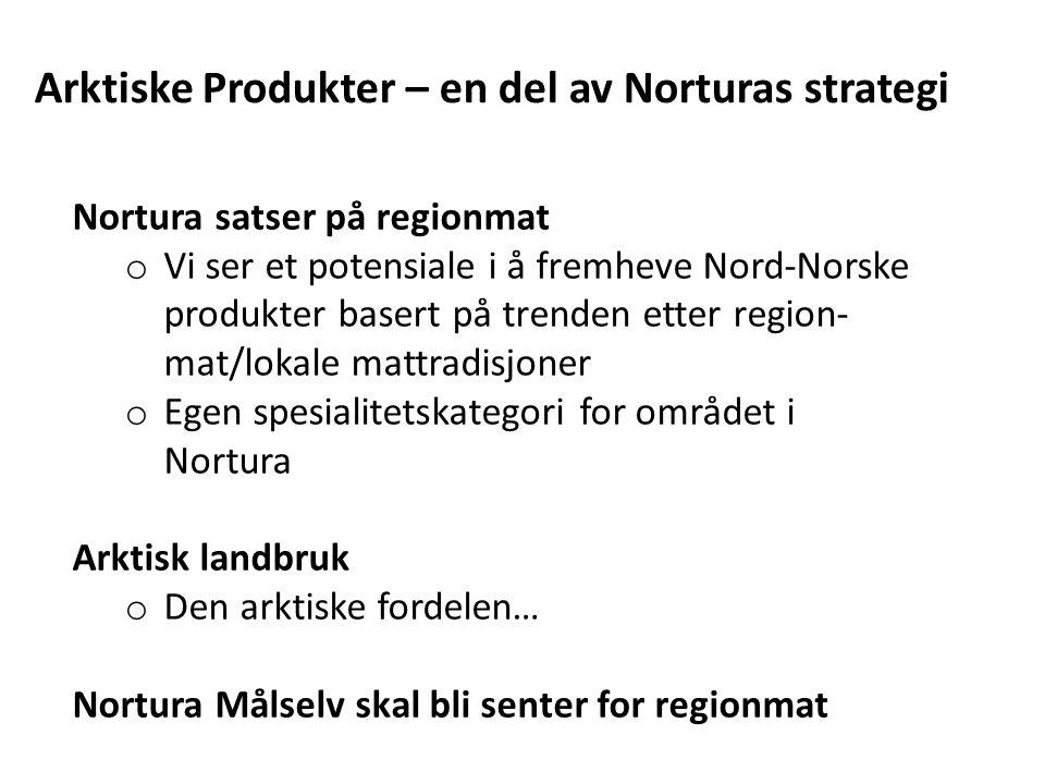 Arktiske Produkter – en del av Norturas strategi
