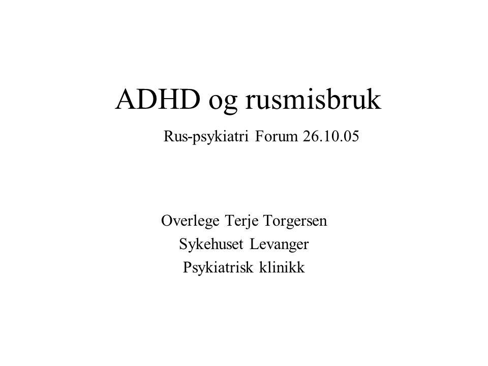 Overlege Terje Torgersen Sykehuset Levanger Psykiatrisk klinikk