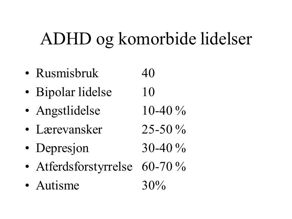 ADHD og komorbide lidelser