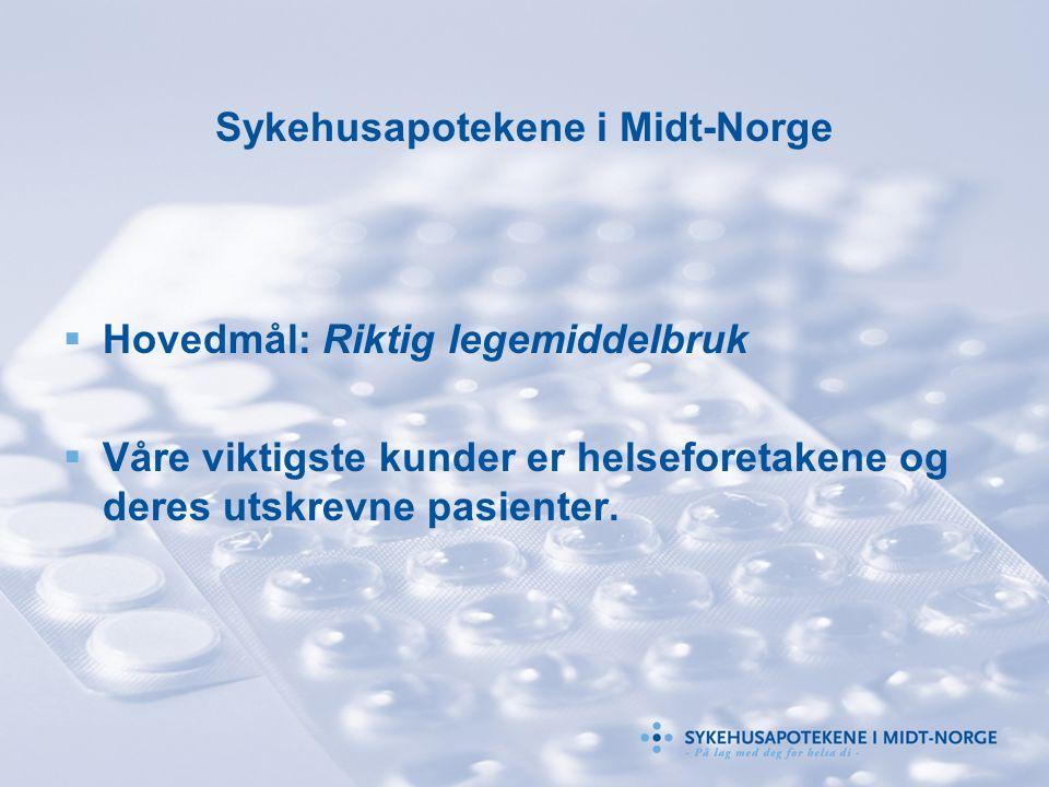 Sykehusapotekene i Midt-Norge