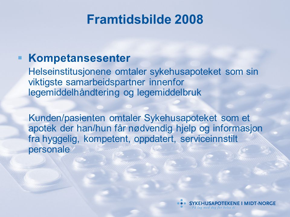 Framtidsbilde 2008 Kompetansesenter