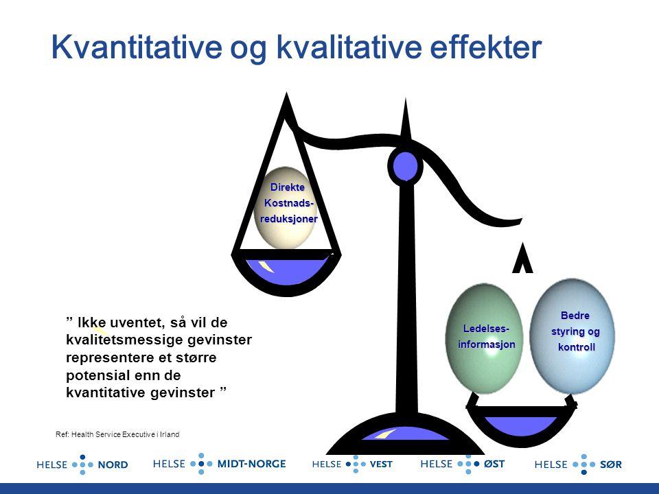 Kvantitative og kvalitative effekter