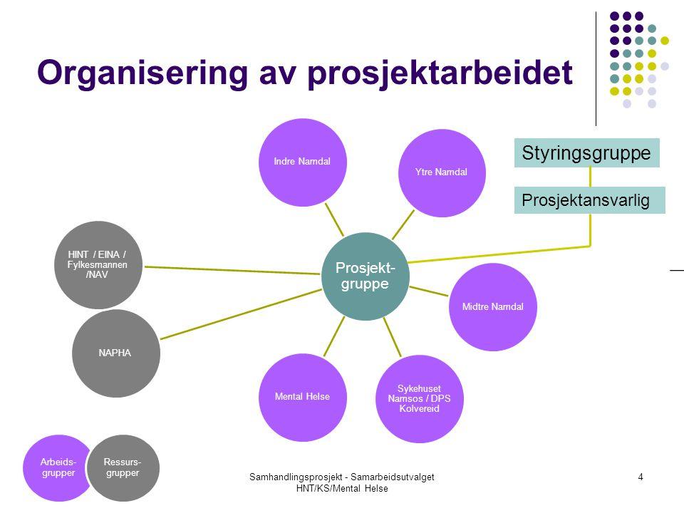 Organisering av prosjektarbeidet