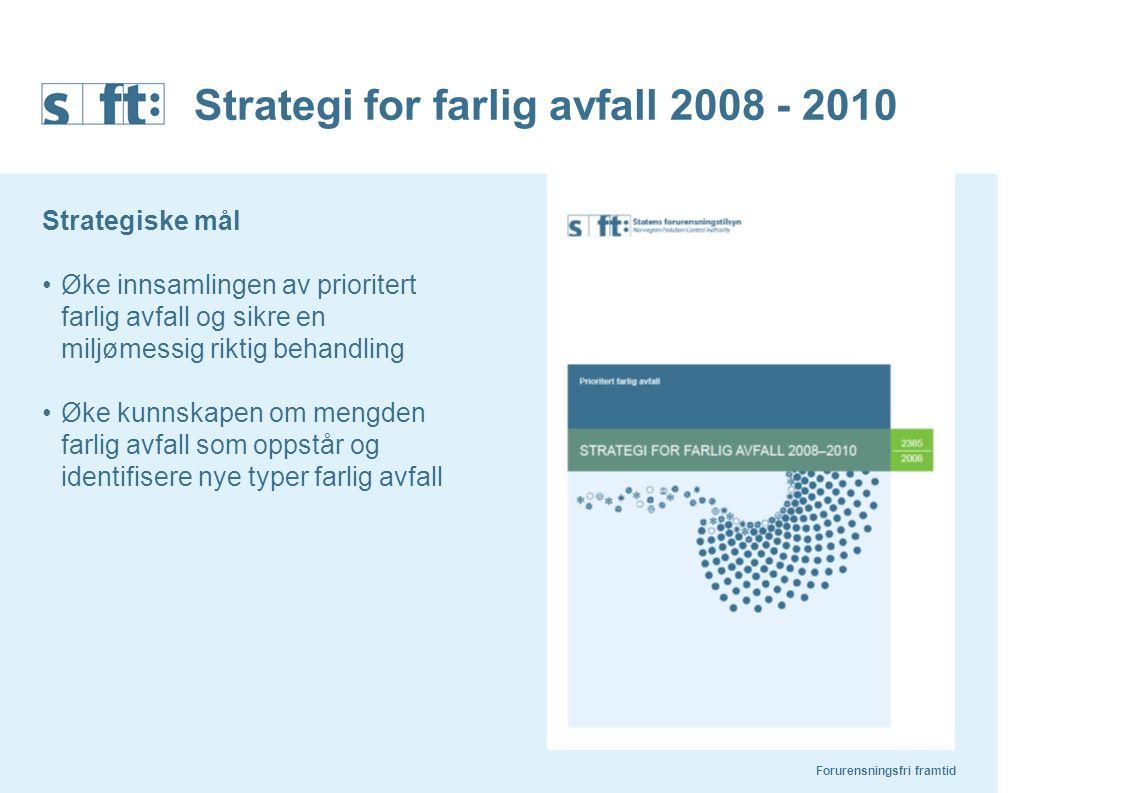 Strategi for farlig avfall 2008 - 2010