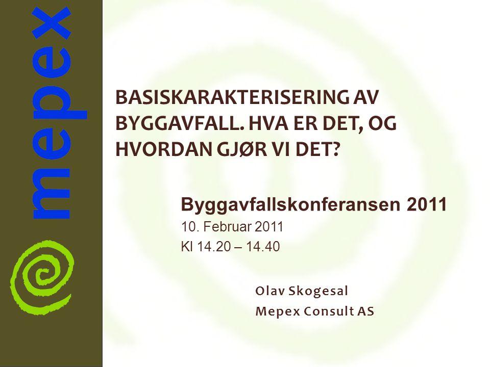 Olav Skogesal Mepex Consult AS